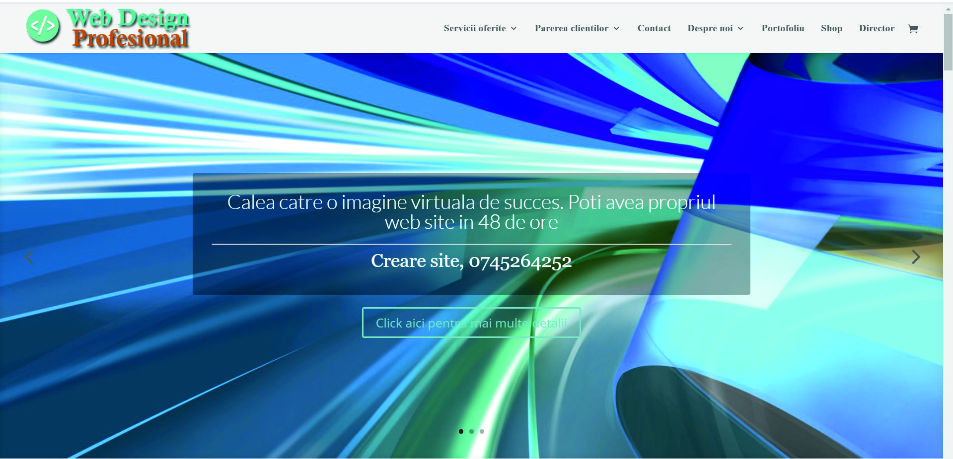 creare site responsitive